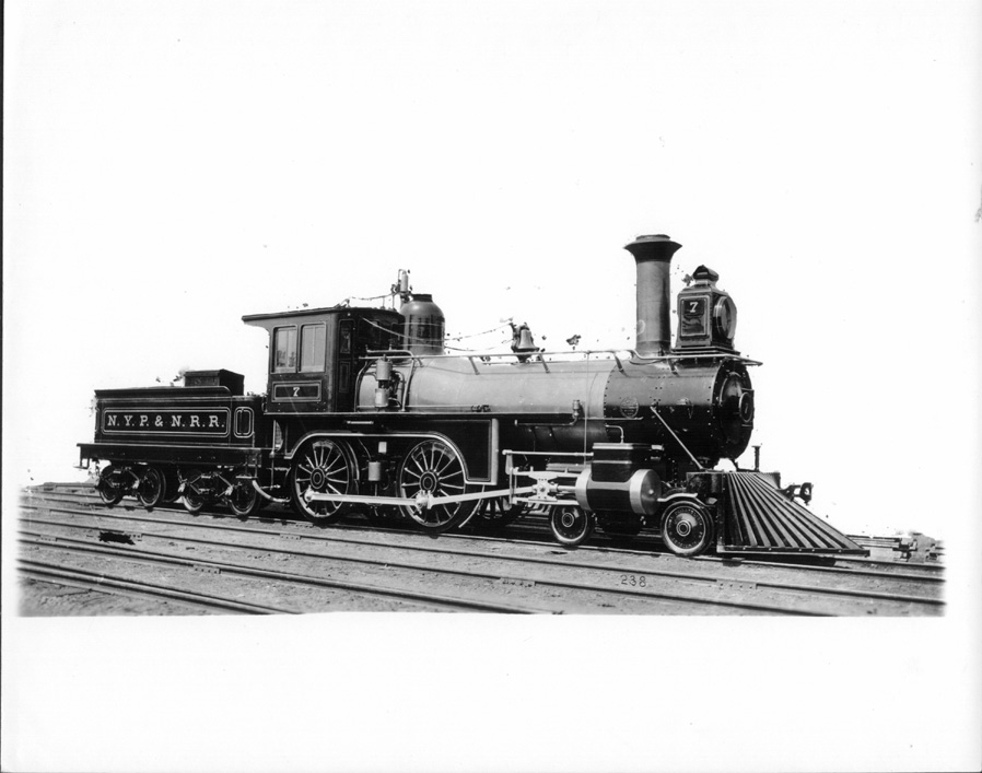 New York  Philadelphia  U0026 Norfolk Railroad Locomotive No  7