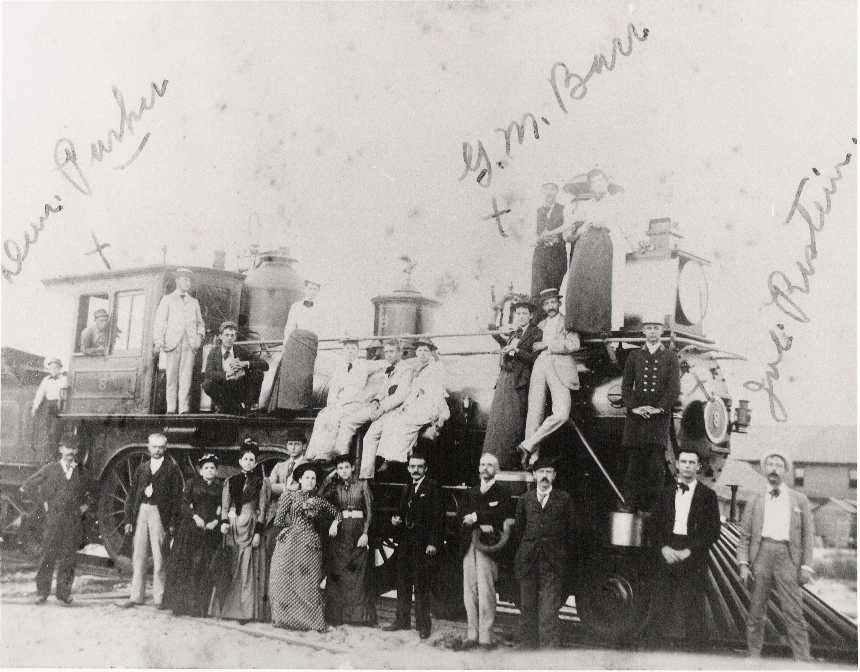 Crew Of First New York  Philadelphia And Norfolk