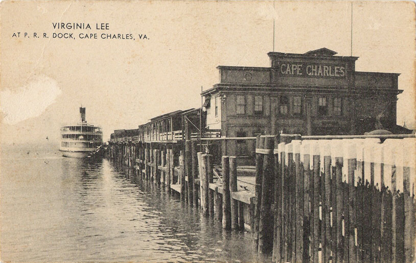 Virginia Lee at P.R.R. Dock, Cape Charles, Va. | The ...