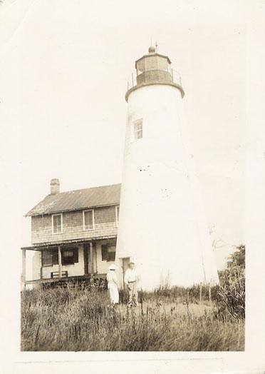 Watts Island Lighthouse 1936 The